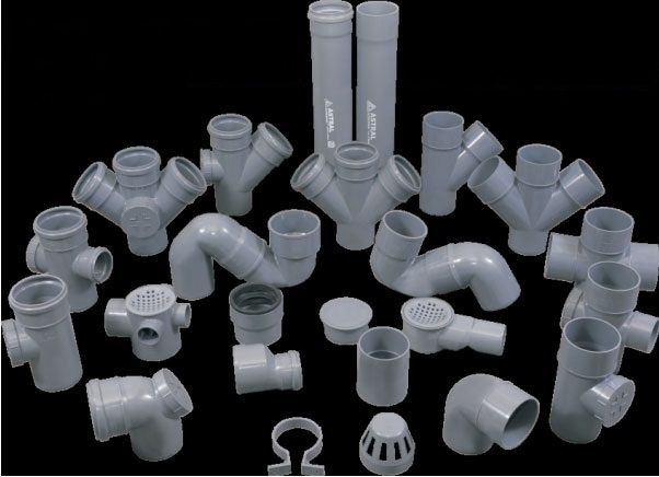 Product -> uPVc fitting Pipes